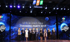FPT TELECOM INTERNATIONAL HELD THE THANKING PARTIES 2019 IN HANOI AND HO CHI MINH CITY