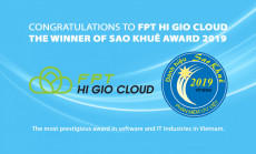 FPT HI GIO CLOUD – THE WINER OF SAO KHUÊ AWARDS 2019.