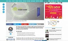 Thanh Niên Online: Ra mắt dịch vụ điện toán đám mây FPT HI GIO Cloud