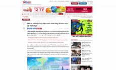 VIETNAM NET: FPT ra mắt dịch vụ điện toán đám mây đa khu vực tại Việt Nam