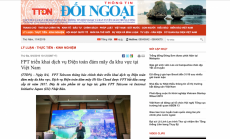 Tạp chí thông tin đối ngoại: FPT triển khai dịch vụ Điện toán đám mây đa khu vực tại Việt Nam